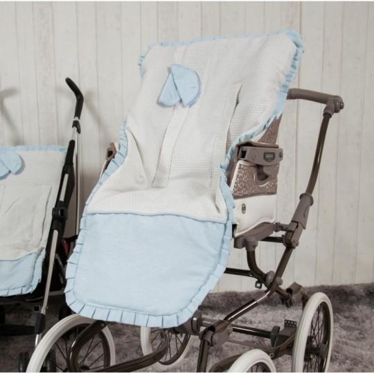 Funda de silla Destellos Azul