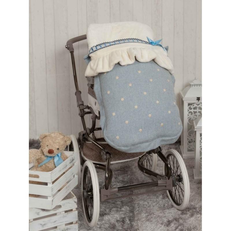 Saco de silla Caricias Azul
