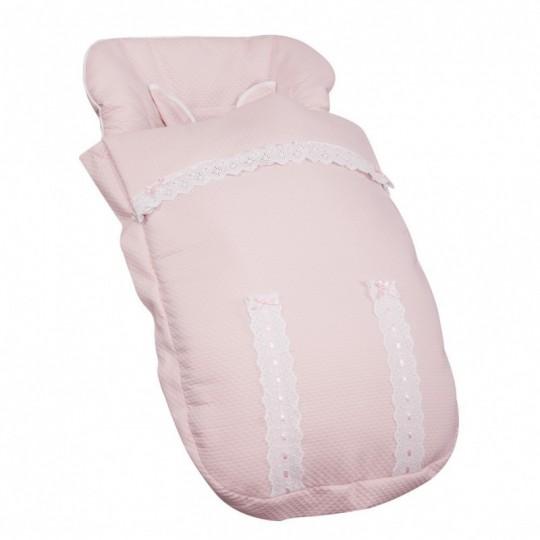Saco de silla Classic Rosa Bebé