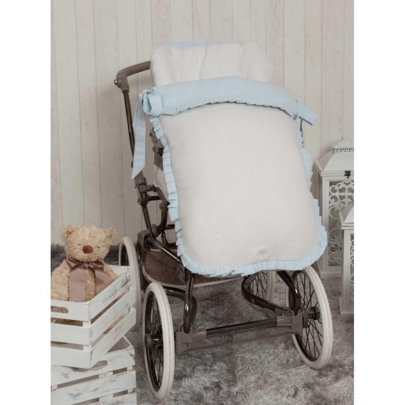 Saco de silla Destellos Azul