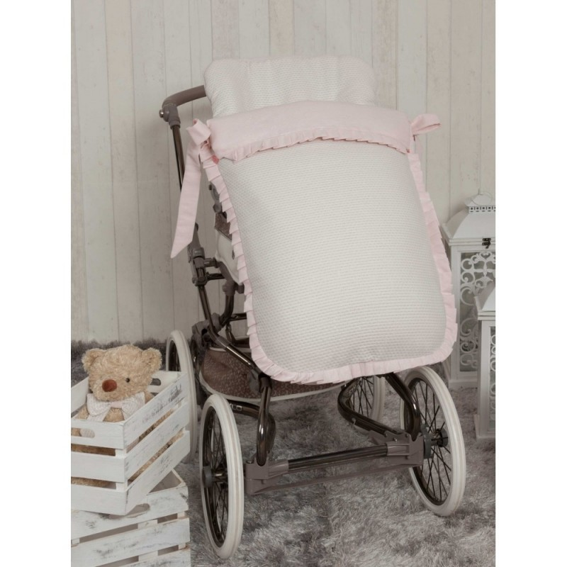 Saco de silla Destellos Rosa