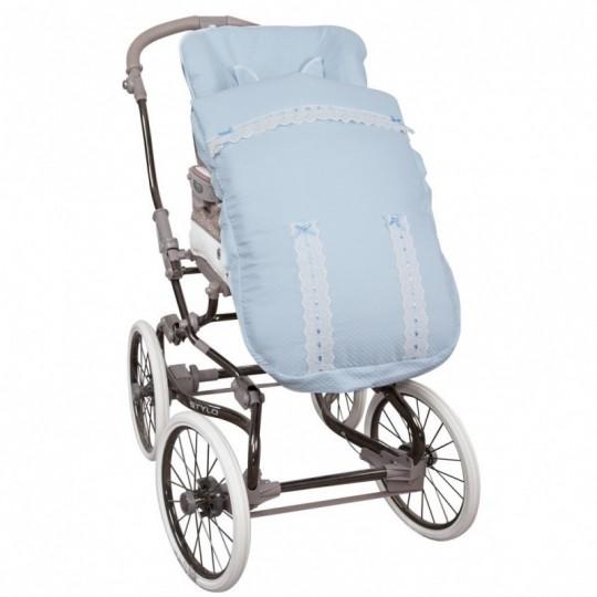 Saco de silla para Bugaboo Classic Celeste