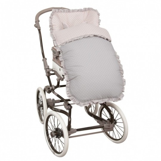Saco de silla para Bugaboo Dots Rosa