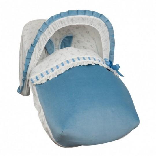 Saco Porta bebé Autumn Azul (capota no incluida)
