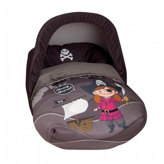 Saco Porta bebé Barco Pirata Chica (capota no incluida)