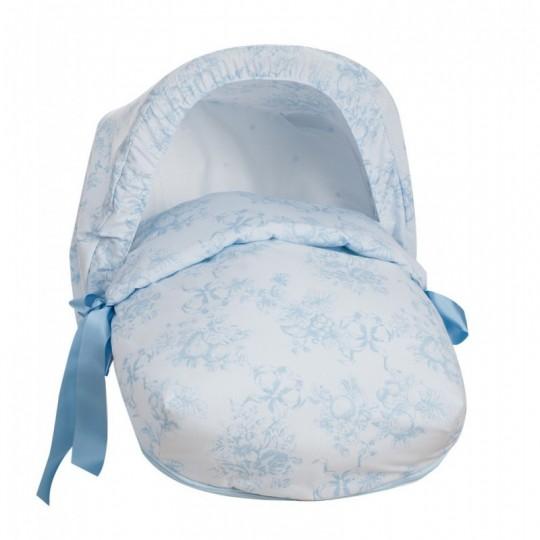 Saco Porta bebé Espagnolo Celeste (capota no incluida)