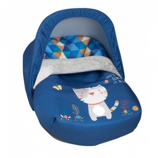 Saco Porta bebé Kitty Azul (capota no incluida)
