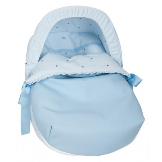 Saco Porta bebé Nuevo Bodoque Celeste (capota no incluida)