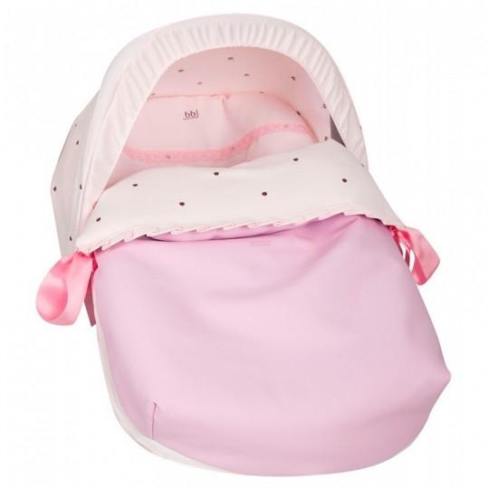 Saco Porta bebé Nuevo Bodoque Rosa (capota no incluida)