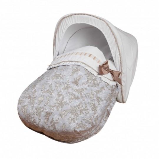 Saco Porta bebé Paseos de Toile Gris. (capota no incluida)
