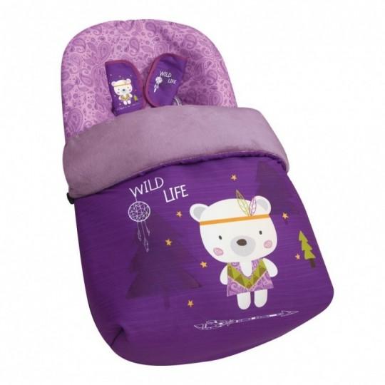 Saco Porta bebé Wild Life (capota no incluida)