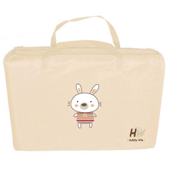 Colchón de cuna de viaje Dreams Bunny beige