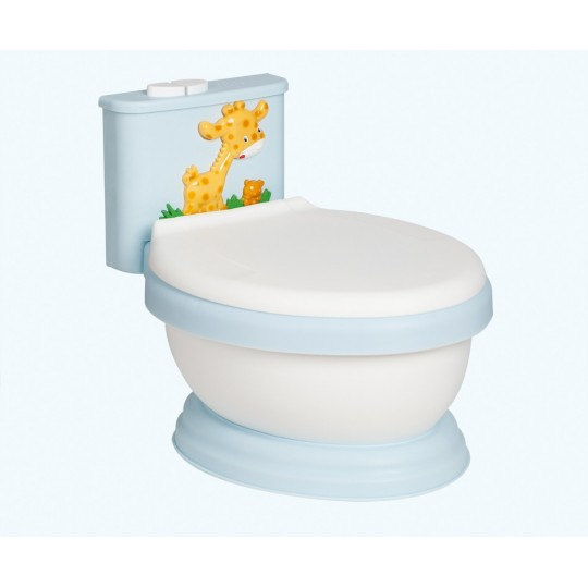 Orinal Musical WC Jirafa Azul