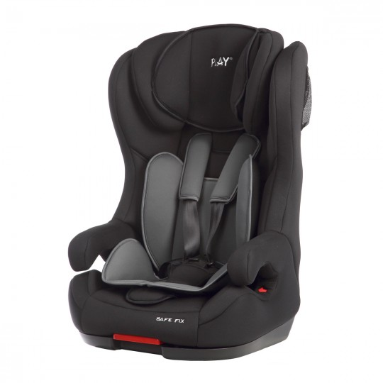 Silla de Auto Play Safe Fix negro - Grupo 1/2/3