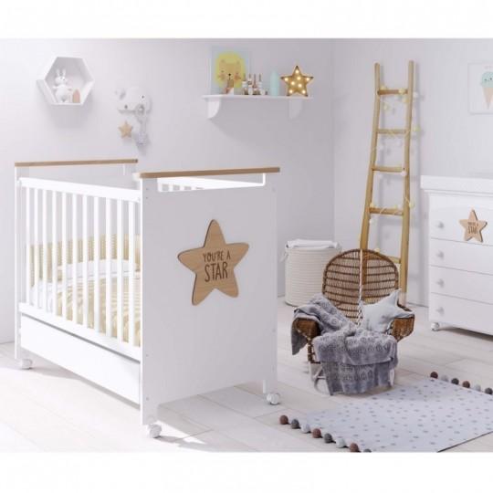 CUNA BABY STAR 120 x 60 cm