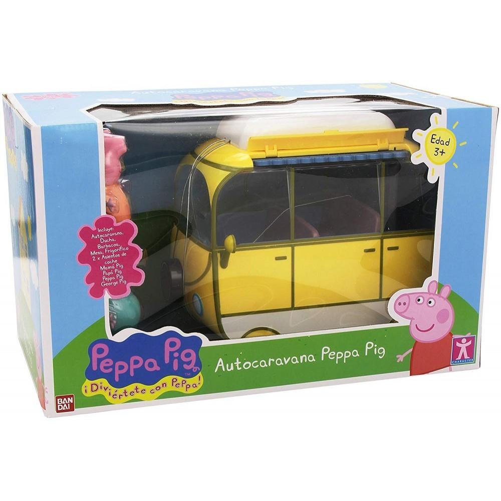 Caravana Con Caravana Accesorios Pig Pig Peppa Peppa Peppa Accesorios Pig Con 4ARL5j