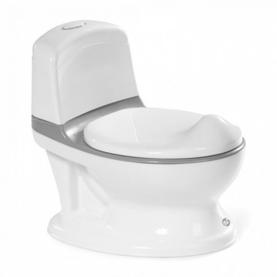 Orinal infantil Potty Gris