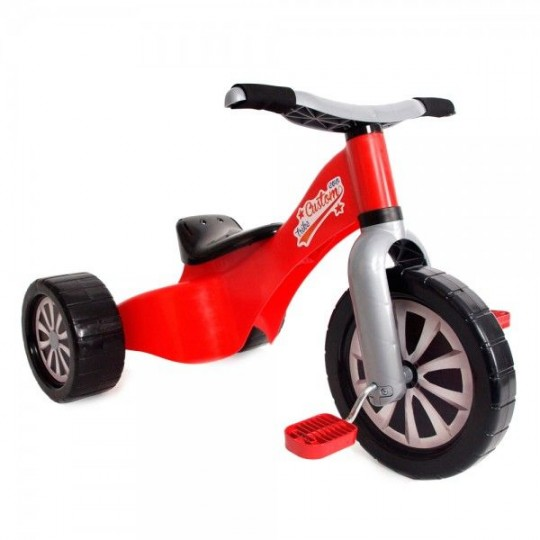 Triciclo Custom Rojo 2 en 1 convertible