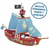 Barco Pirata de Doraemon +3 años