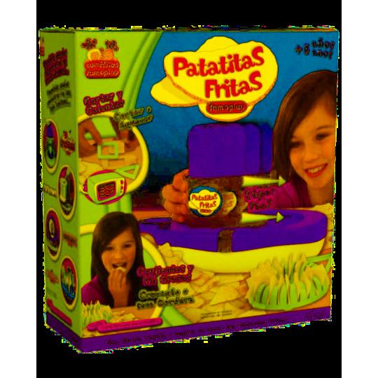 Juego Patatas Fritas Famoplay