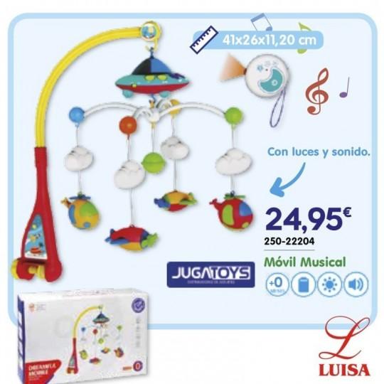 Móvil Musical Con luces y sonidos