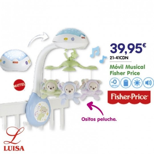 Móvil Musical Fisher Price