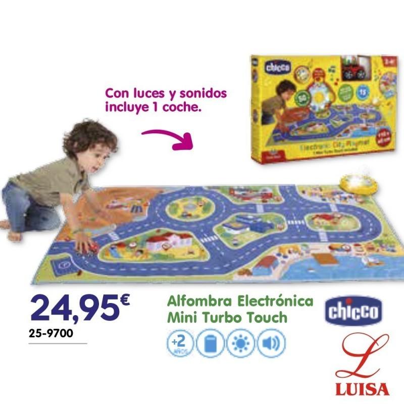 Alfombra Electrónica Mini Turbo Touch
