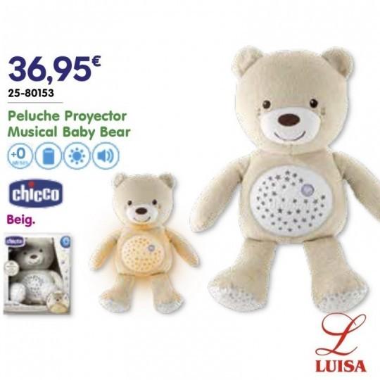 Peluche Proyector Musical Baby Bear