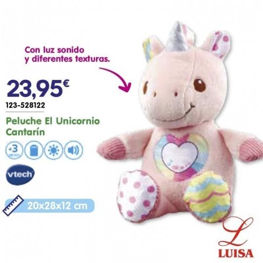 Peluche El Unicornio Cantarín
