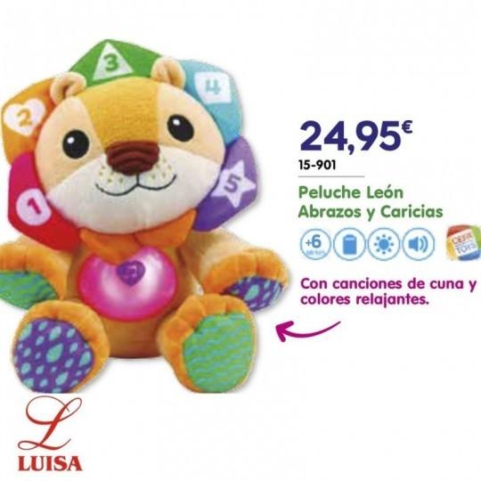 Peluche León Abrazos y Caricias