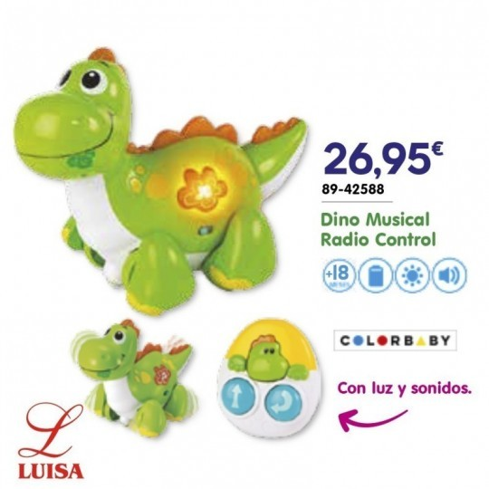 Dino Musical Radio Control