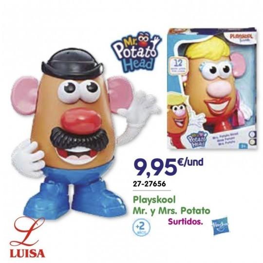 Playskool Mr. y Mrs. Potato