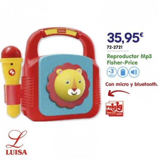 Reproductor Mp3 Fisher-Price