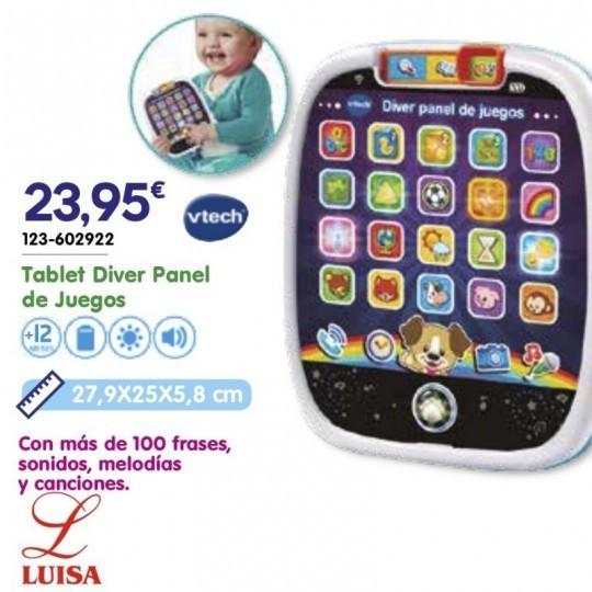 Tablet Diver Panel de Juegos