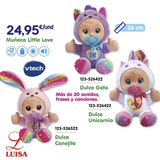 Muñeco Little Love Dulce Unicornio