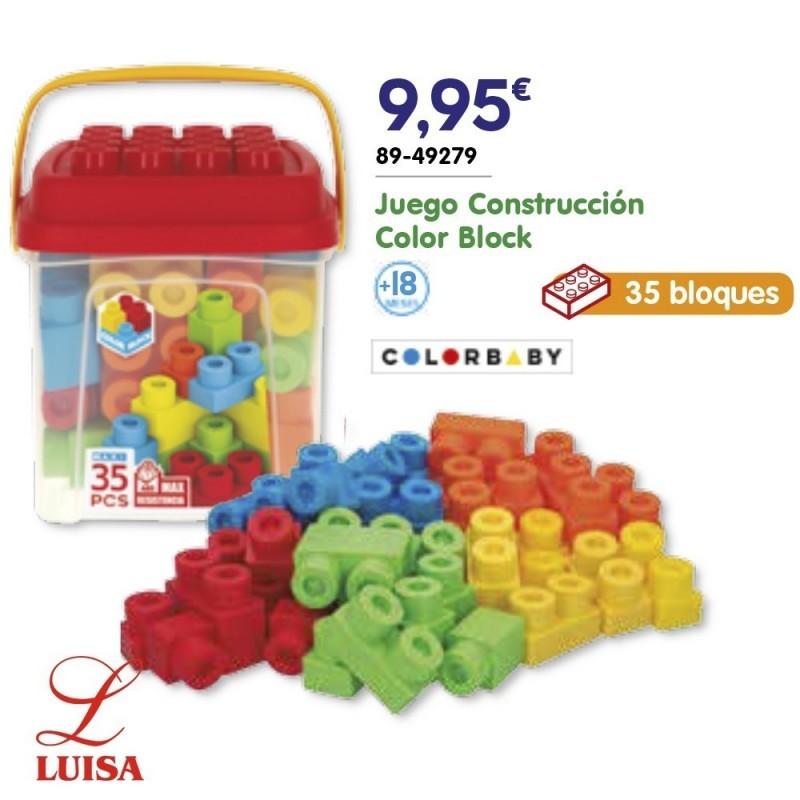 Juego Construcción Color Block
