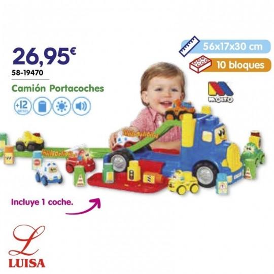Camión Portacoches