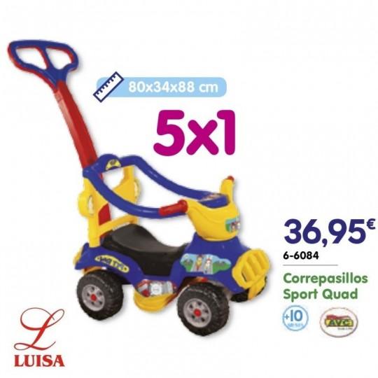Correpasillos Sport Quad