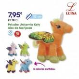 Peluche Unicornio Katy Alas de Mariposa