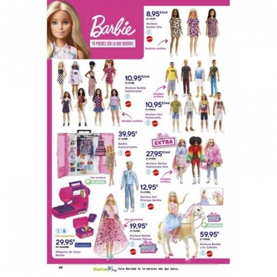 Muñeca Barbie y Su Caballo