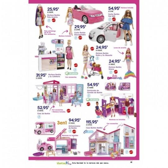 Coche Barbie Fiat 500