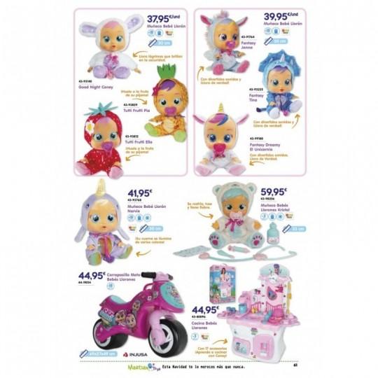 Muñeco Bebé Llorón Fantasy Dreamy El Unicornio