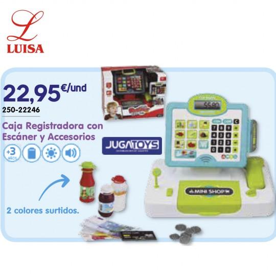 Caja Registradora con Escáner y Accesorios