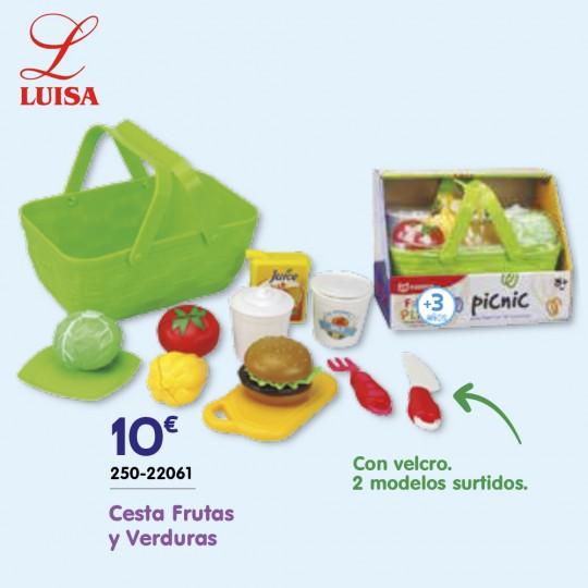 Cesta Frutas y Verduras