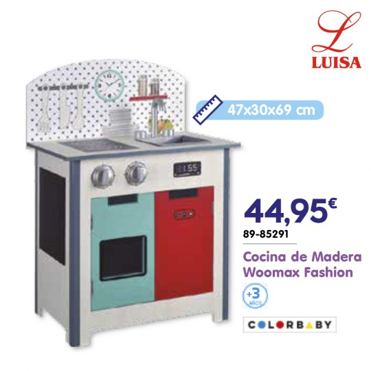 Cocina de Madera Woomax Fashion