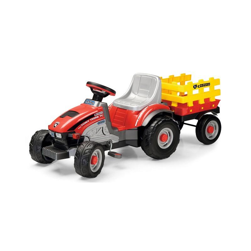 Mini Tony Tigre es el tractor Antonio Carraro Peg Perego